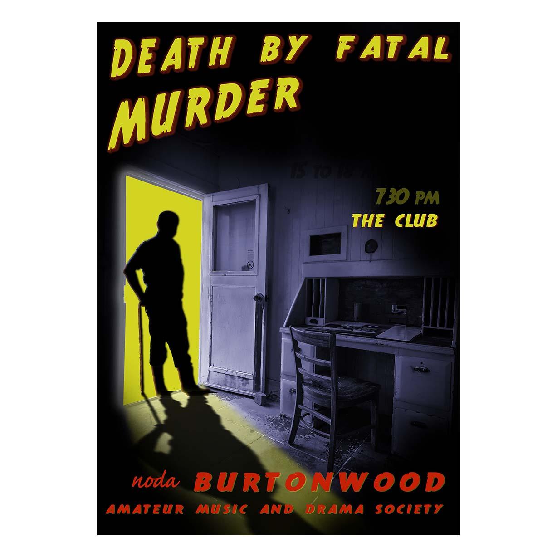 Death by Fatal Murder - Poster